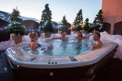 Outdoor Hot Tub Hotel L'Aigle