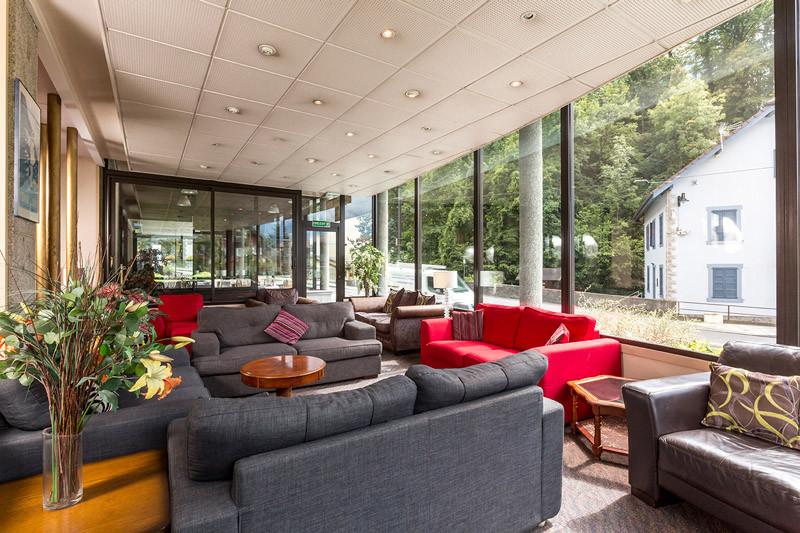 Lounge Area Hotel Terminus Mont Blanc St Gervais