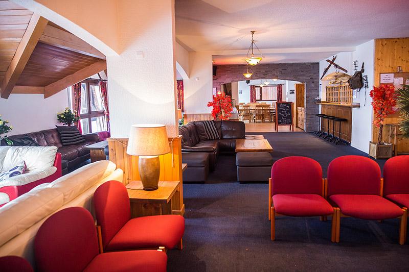 Lounge Area Hotel L'Aigle Valmeinier
