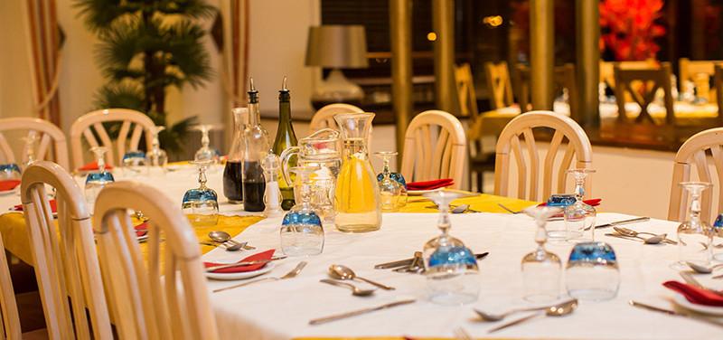 Dinner Service Hotel Terminus Mont Blanc