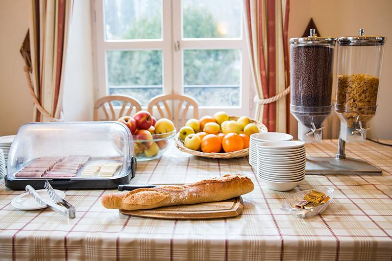 Breakfast Hotel Terminus Mont Blanc
