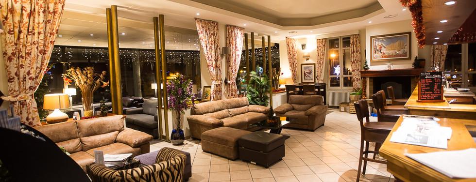 Bar Area Hotel Terminus Mont Blanc