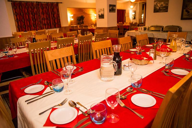 Dining Room Hotel L'Aigle Valmeinier