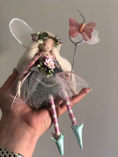Butterfly Catcher Fairy