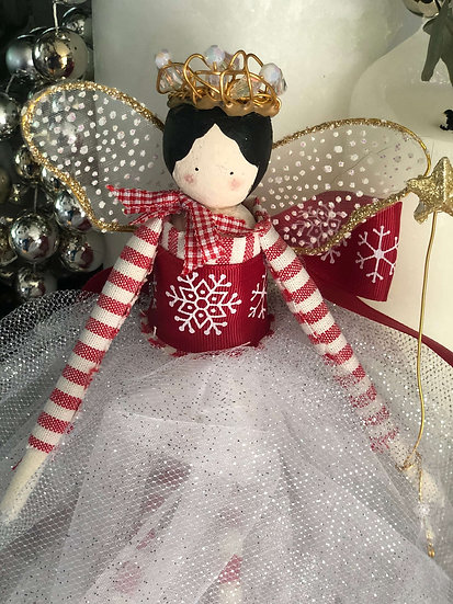 Christmas tree top fairies - Victorian