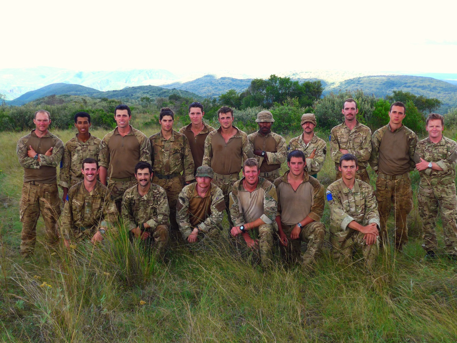 Training the British Army in Kenya