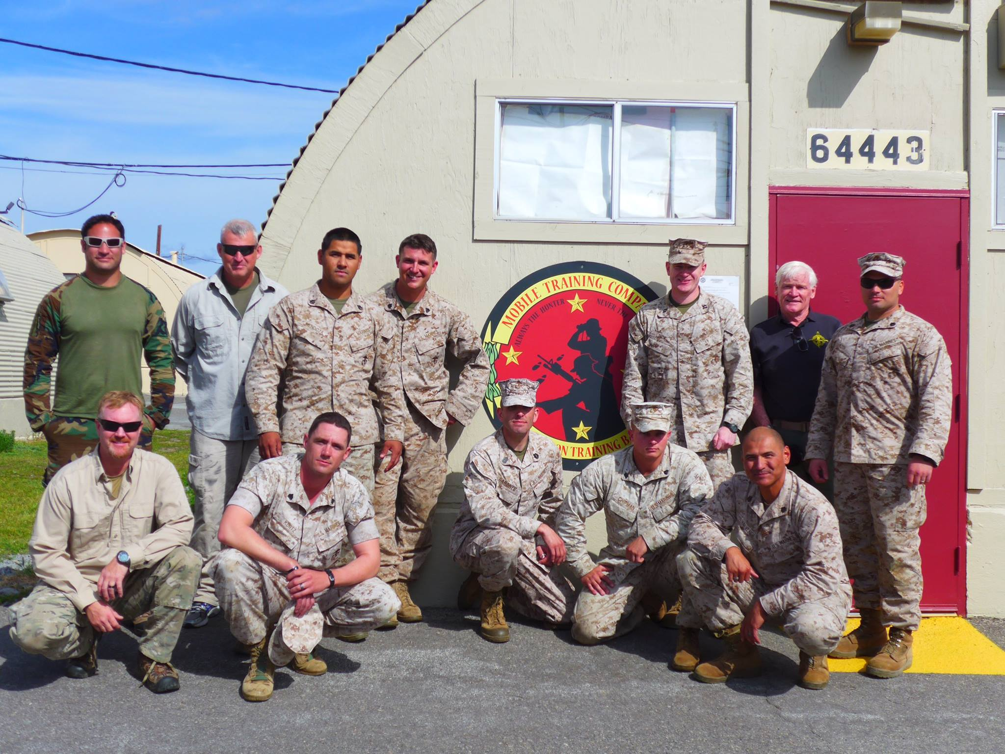 USMC Instructors at Camp Pendleton