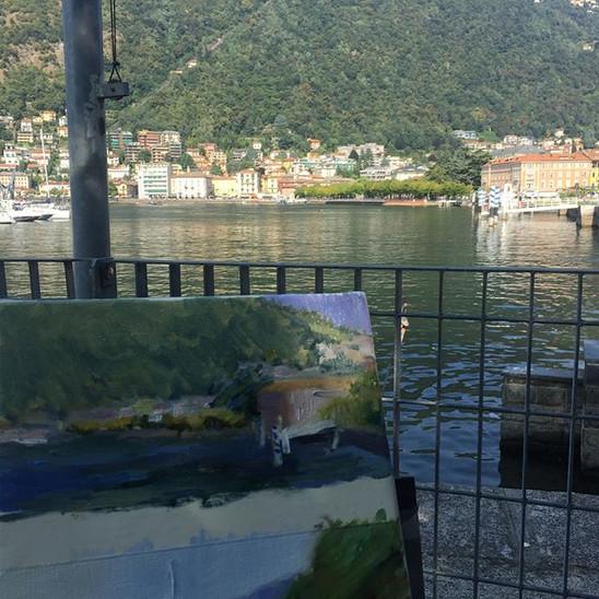 Lago di Como 🇮🇹 🎨🖌