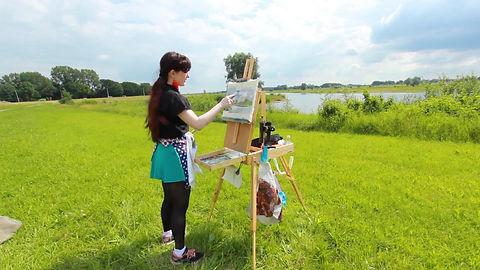 Pleinair workshop 25 juli 2019