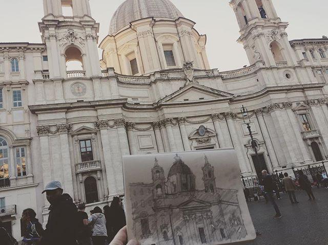 ✍🏻🏛🌞 Piazza Navona