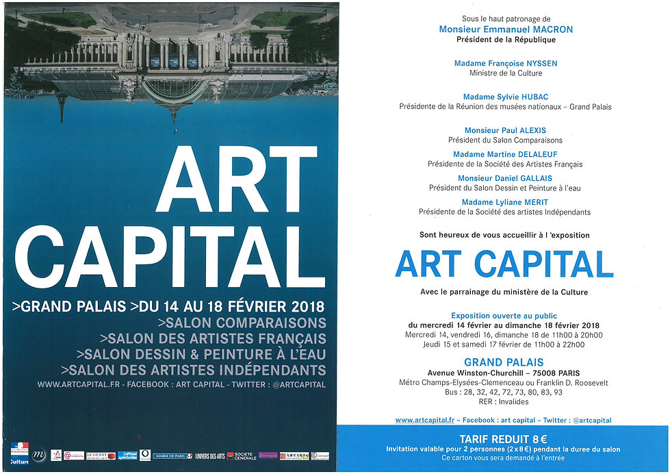 invitation art capital paris