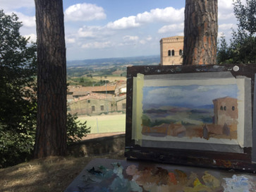 Watching over San Gemignano