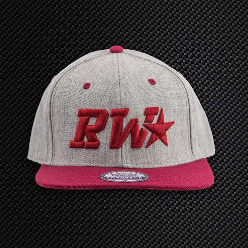 RevWorks Cap - Grey & Red