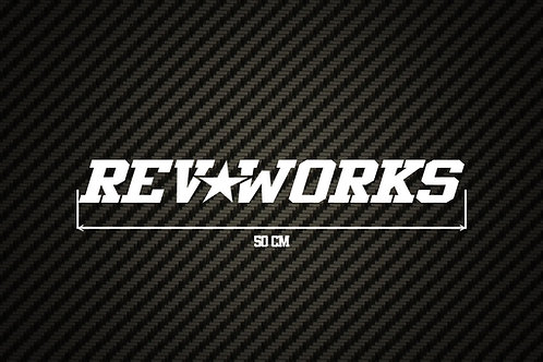 RevWorks Window Sticker - 50CM