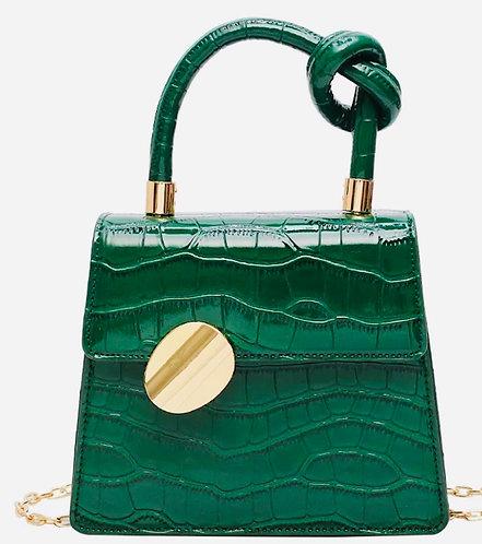 Vintage Cocktail Clutch: Green