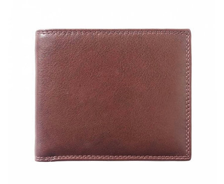 The Bifold Men's leather wallet: Tan