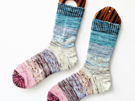 A Basic Sock & No Sew Stripes