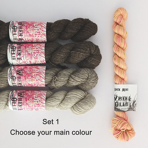 Peaches & Cream Purist Yarn Set