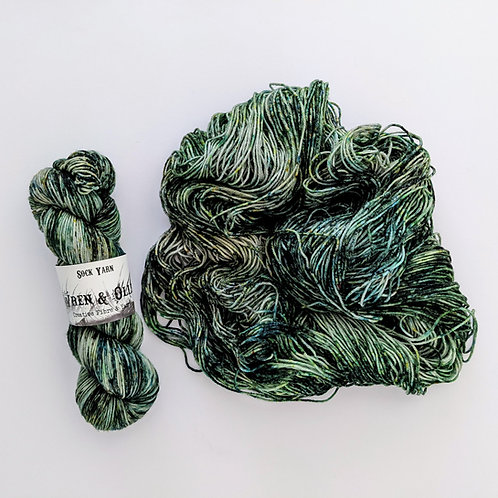 Sock Yarn: Poison Ivy