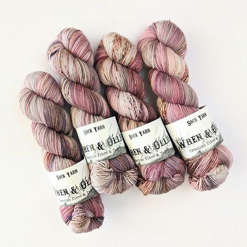 Sock Yarn: OOAK Cherry Ripe