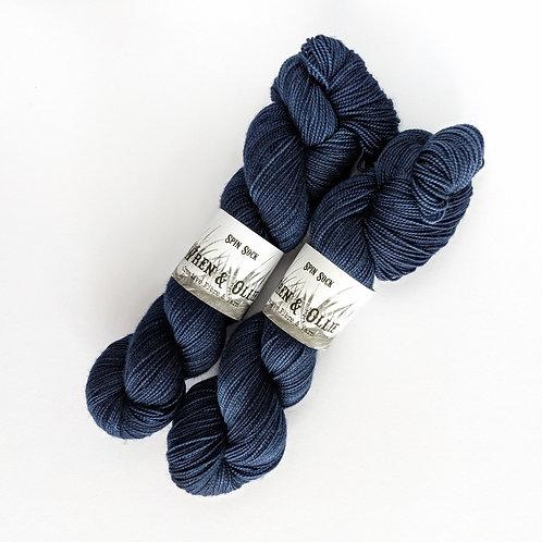 Spin Sock : Dark Denim