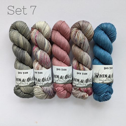 Yarn Set 7: Slipstravaganza MKAL 2020
