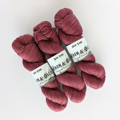 Sock Yarn : Rouge
