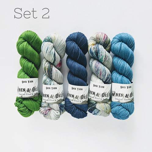 Yarn Set 2: Slipstravaganza MKAL 2020