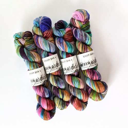 Valley Sock 4 : Archimedes