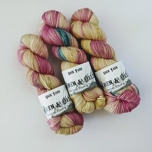 Sock Yarn : Sweet Pea