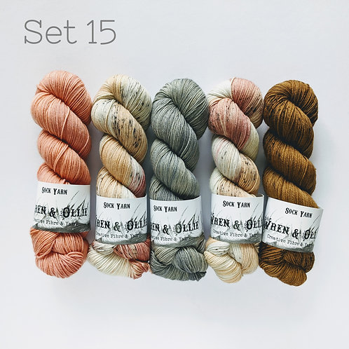 Yarn Set 15: Slipstravaganza MKAL 2020
