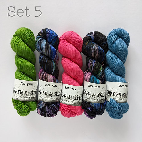 Yarn Set 5: Slipstravaganza MKAL 2020