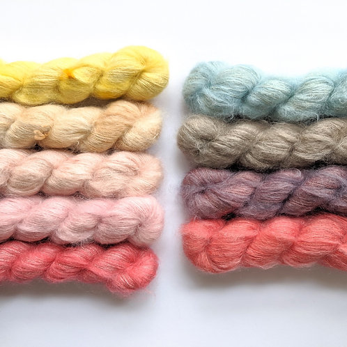 Mohair Silk Lace: Botanical Collection