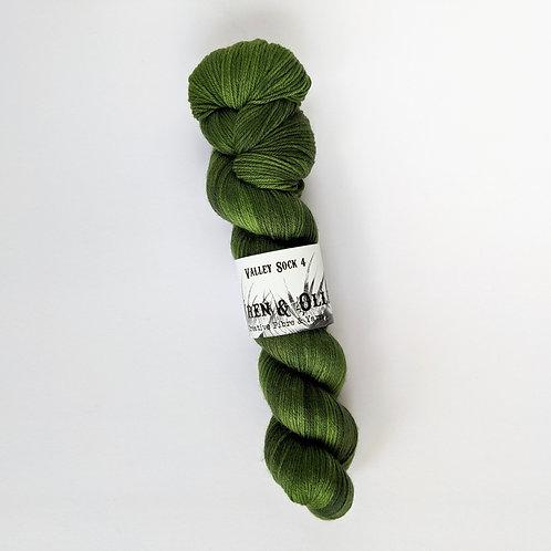Valley Sock 4 : Evergreen