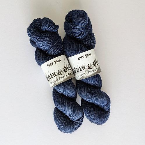 Sock Yarn : Dark Denim