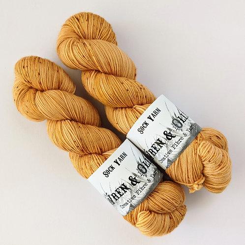 Sock Yarn : Honey