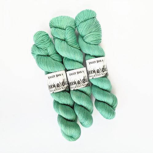 Valley Sock 4 : Minty