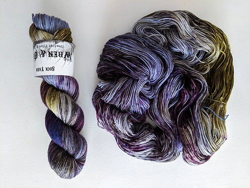 Sock Yarn : Velvet Cloak