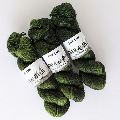 Sock Yarn : Evergreen