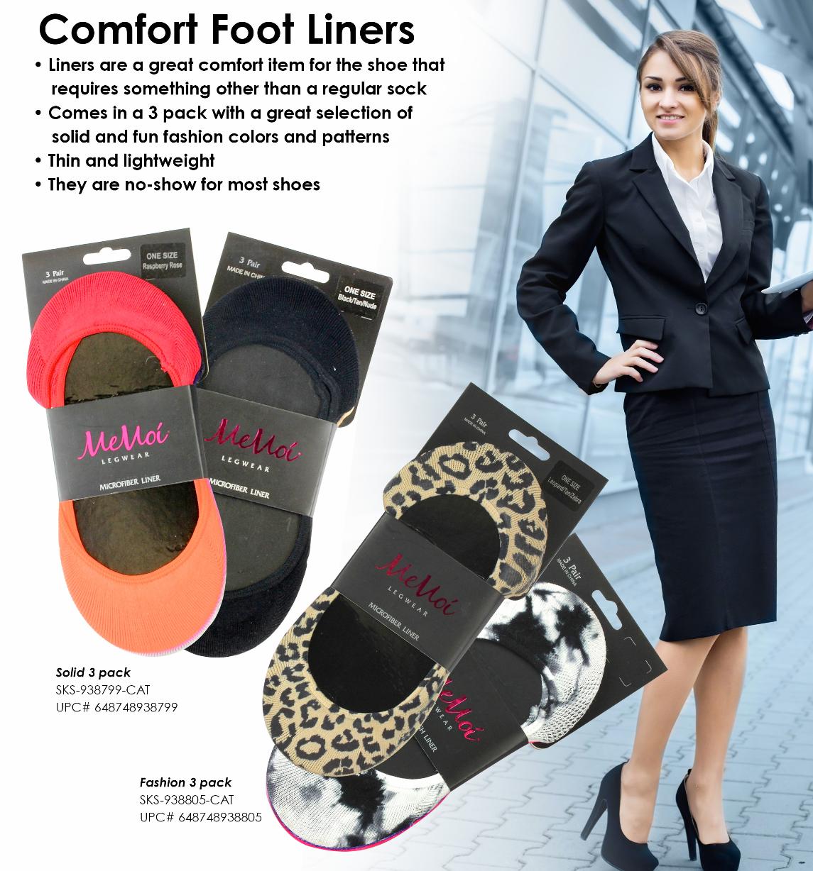 SKS-938799 - Comfort Foot Liners