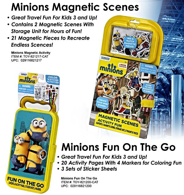 Minions Magnetic Activities