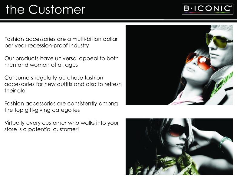 B ICONIC - The Customer