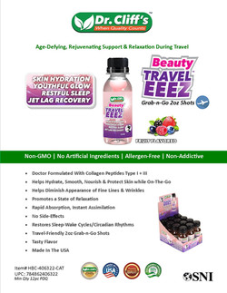 Dr Cliff's Beauty Travel EEEZ