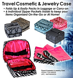 Cosmetic & Jewelry Case