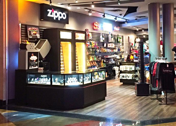 ZIPPO Shop-in-Shop