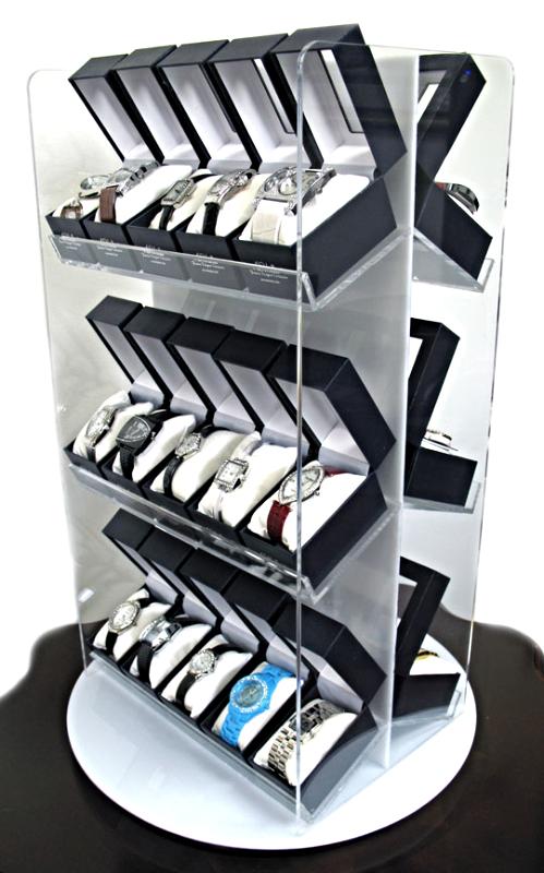 Boxed Watch Countertop Fixture