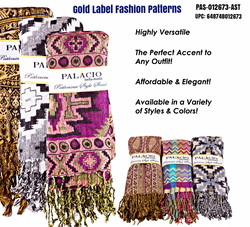 Gold Label Fashion Pattern Pashminas