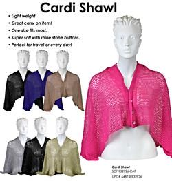 SCF-932926 - Scarves - Cardi Shawl