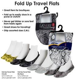 SNItodayFolding Travel Flats