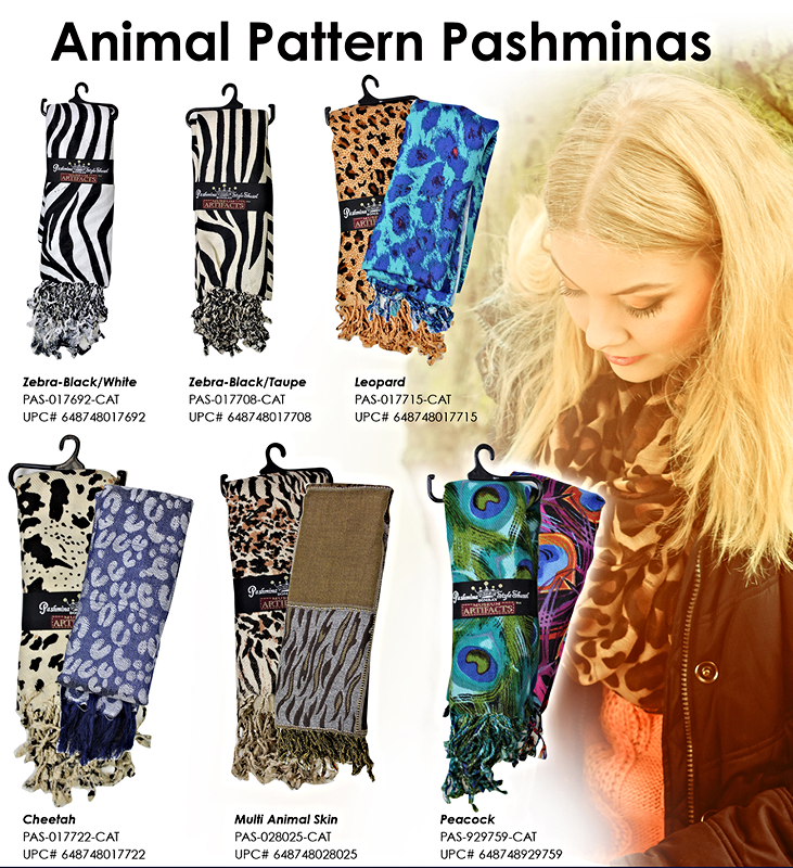 Pashminas - Animal Prints